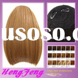 Fringe golden hair bangs-synthetic fashion hair pieces