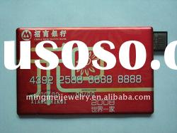 Gift Card USB with competitive price Flash memory stick usb