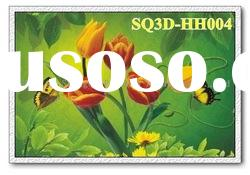 HH004,3D Flowers Pictures/Cards,Lenticular Pictures of Flowers
