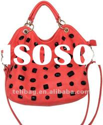 Hot!!! 2012 Summer Newest Fashion Women Tote Bag With Weave Wholesale (A224)