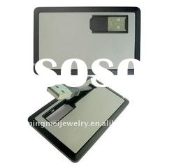 Hot sale Credit card USB stick in 2011 Flash memory usb drive