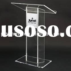 JAL-006 Clear Acrylic Lectern Pulpit