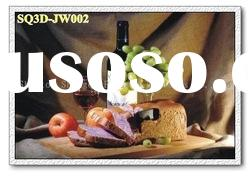 JW002,3D Lenticular Still Life Pictures/Cards, Decorative Paintings of Still Life