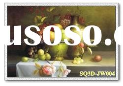 JW004,3D Lenticular Still Life Pictures/Cards, Decorative Paintings of Still Life