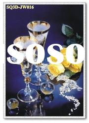 JW016,3D Lenticular Still Life Pictures/Cards, Decorative Paintings of Still Life