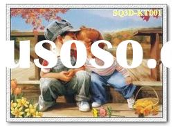 KT001,3D Children Pictures/Paintings/Cards,Lenticular Pictures of Cartoon