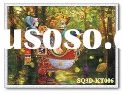 KT006,3D Fable Pictures/Paintings/Cards,Lenticular Pictures of Cartoon/Movie/Fable