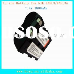 Li-ion battery replacement for NIK.EN-EL3/EN-EL3A High quality