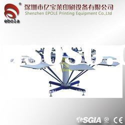 Manual Textile Screen Printing Machine For T-shirt