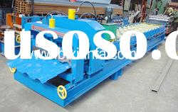 Metal Glazed Tile Roll Forming Machine XF40-256-768