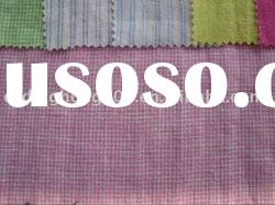 New Fashion 100%Linen Yarn Dyed Fabric For clothing