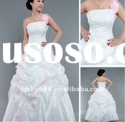 New style Ball Gown One-Shoulder Wedding dress
