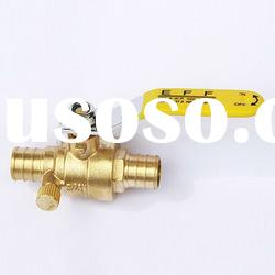 PEX Brass Ball Valve With Drain (Pex * Pex)