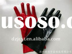 PVC Gloves working gloves 26/27/35/40/60 cm water resistant gloves