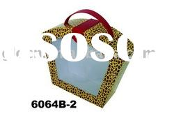 Paper cosmetic box with clear PVC window; Paper gift box with PVC window
