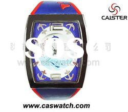 Promotional gift watch with water resistant fuction.