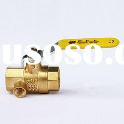 Purge Brass Ball Valve (Female Thread)