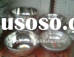 Stainless Steel Soup Bowl / Basin stainless steel wash basin
