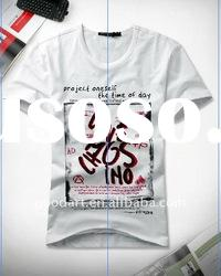 TT148 100 cotton white t shirt man t shirts plain t shirts for printing