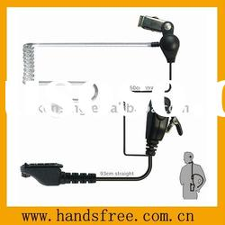 Two way radio earphone , walkie talkie earphone , acoustic tube earpiece