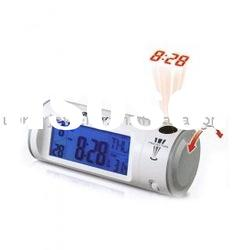 Voice Controlled back light Projection Clock