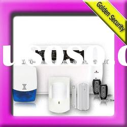 Wireless Home burglar alarm system work with Landline