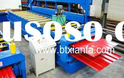 automatic double sheet roll forming machine