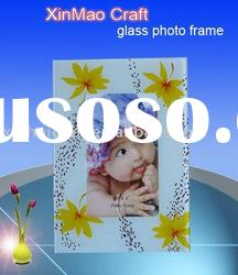 baby glass picture frame for room decoration