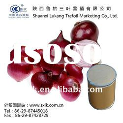chinese pure onion extract powder best price(GMP.HACCP)
