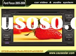 double din car gps dvd for old ford focus