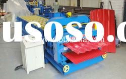 double sheet glazed tile roll forming machine