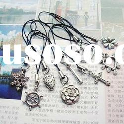 fashion mobile phone key chain charms and pendants cell phone chains bag pendant