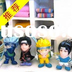 fashion naruto toys mobile phone key chain cartoon character kids toys promotion gift