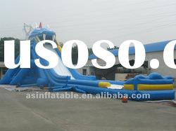 hot-selling amusement park inflatable pool slide