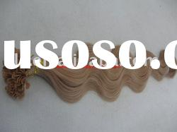 human hair extension, italy glue hair extension, 1g/strand