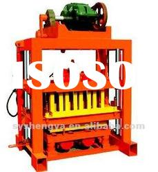 manual concrete block making machine QTJ4-40B