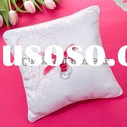 pink print wedding ring pillow/bridal pillow/wedding gift/wedding favor/wedding item/wedding goods