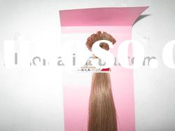 pre-bond hair extension, tlay glue, 100% human hair, well show
