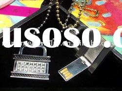professional supplier promotional jewelry usb flash memory