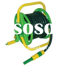 15M Hose on Epoxy Coated Stand with Adjustable Spray Nozzle