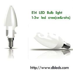 3W E14 LED Candle Lamp Made In China