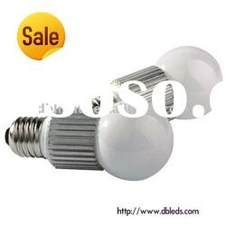 3W E27 high power led lamp bulb