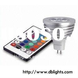 3W MR16 rgb led spot lamp (CE&ROHS)