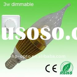 3w E14 LED candle light dimmer