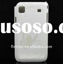 Butterfly White Skin Hard Back Case Cover For Samsung i9000 Galaxy S