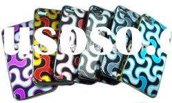 For iphone 4 4g New design Hard Shinny skin Cover case