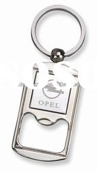 Promotion Bottle Opener Key Ring Car Mark Bottle Opener Keychain