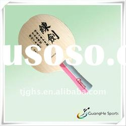 Table Tennis Blade:Sword Wooden Blade for Training,NEW!(for table tennis racket)