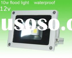 Waterproof IP65 10W LED outdoor light 12v