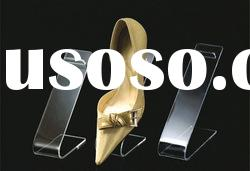 acrylic shoes display with high quality